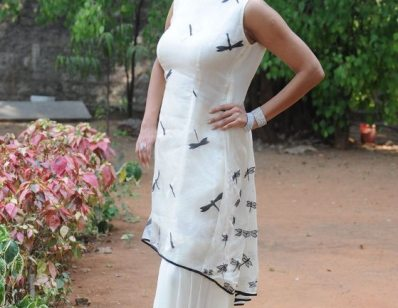 Manchu Lakshmi at Chandamama Kathalu Success Meet-showbizbites-01