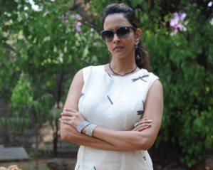 Photos: Manchu Lakshmi Looks Ravishing at Chandamama Kathalu Success Meet