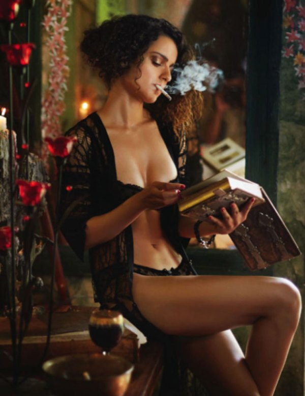 kangana hot photoshoot-showbizbites