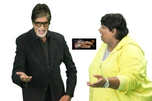 Pix: Amitabh Bachchan Shakes a leg with Ganesh Acharya for a Special Fun Number