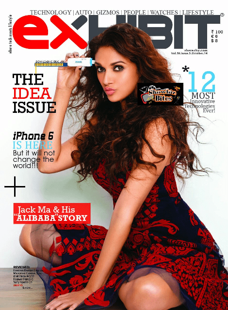 Aditi on Exhibit Magazine-showbizbites-01