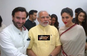 Pic: Saif Ali Khan and Kareena Kapoor Meet Narendra Modi