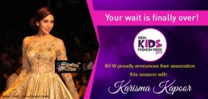 Karisma Kapoor to Walk the Ramp with Kids for India Kids Fashion Week 2015
