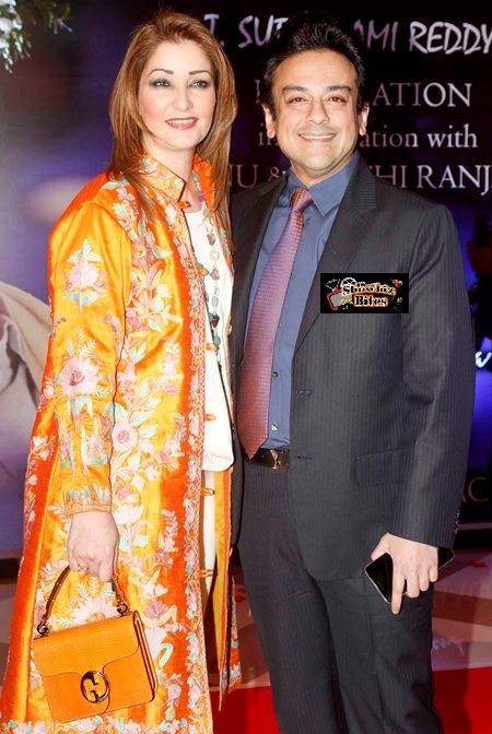 Roya Faryabi and Adnan Sami