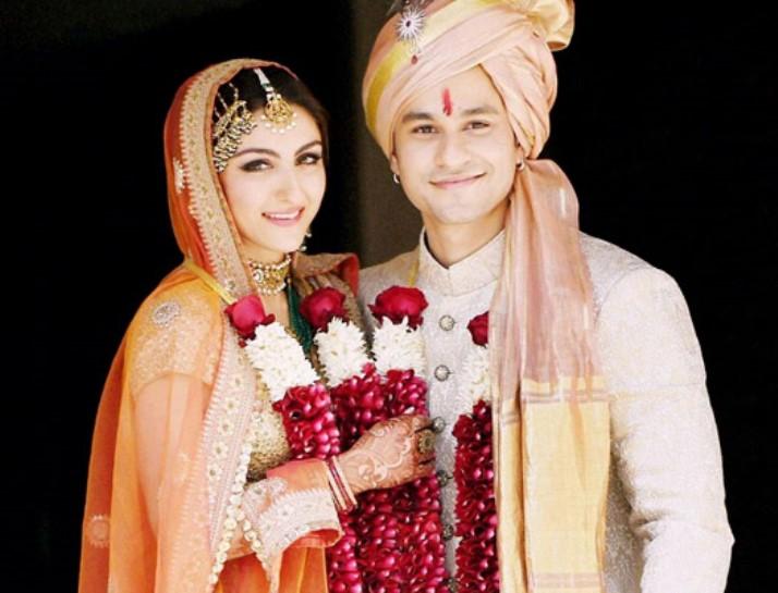 Soha Ali Khan and Kunal Khemu Marriage Photos | Showbiz Bites
