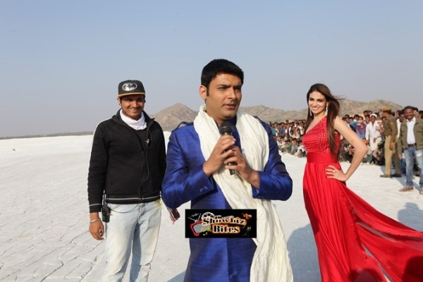 Kapil Sharma on sets of Kis Kisko Pyaar Karoon (2)