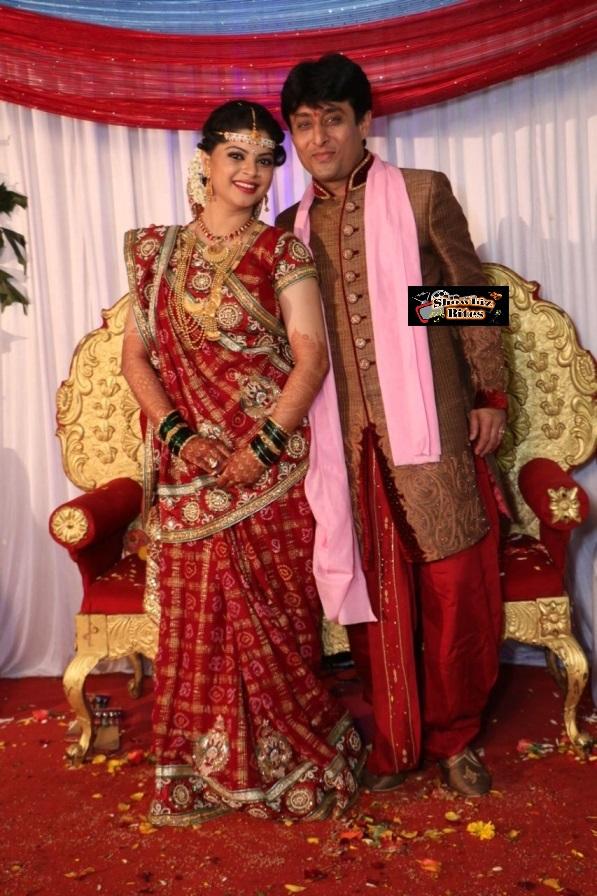 Sneha Wagh with hubby Anurag