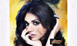 Crazy Fan Paints Aditi Rao Hydari on Canvas