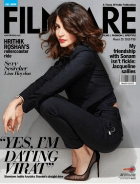 anushka on filmfare cover