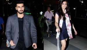 SPOTTED: Arjun Kapoor and Daisy Shah at the Airport, Hmmmm!