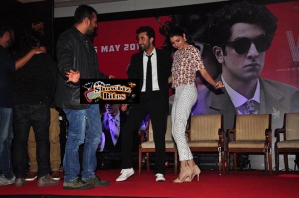 Bombay Velvet Trailer Launch-10