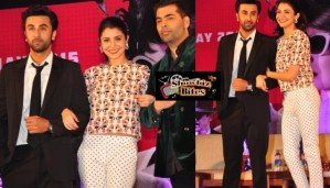PIX: Ranbir Kapoor, Anushka Sharma, Karan Johar and Team at Bombay Velvet Trailer Launch