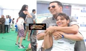 PHOTOS: Akshay Kumar and Shruti Haasan Promote Gabbar is Back in Delhi