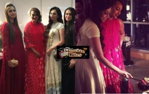 PICTURES: Sonakshi Sinha Looks Stunningly Classy Celebrating Fan's Birthday