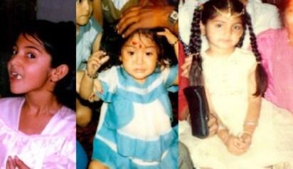 Anushka Sharma Childhood Photos