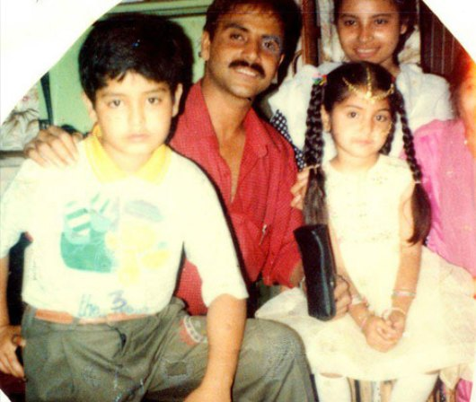Anushka Sharma Childhood Pictures-05