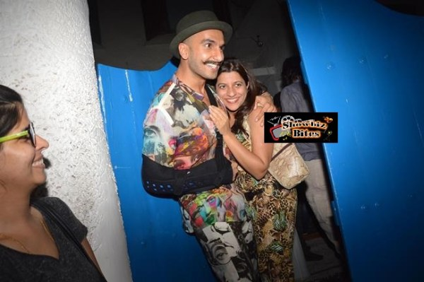 Deepika Padukone's Party at Olive Bandra-10
