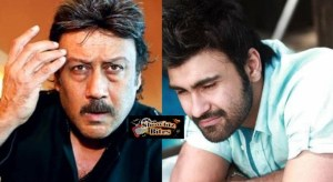 Jackie Shroff and Aarya Babbar Gave an Envelope to a Guy on the Sets – Why?