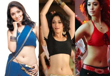 Tamanna Bhatia Hot Navel Show