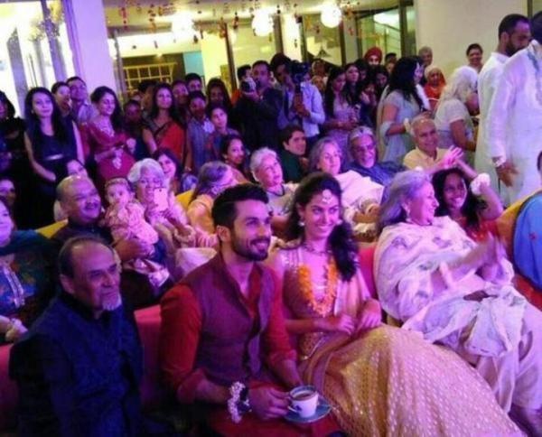 Shahid Kapoor Wedding Pics