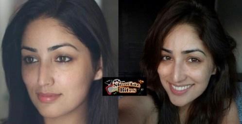 Yami Gautam Without Make up