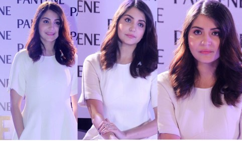 anushka sharma at pantene launch