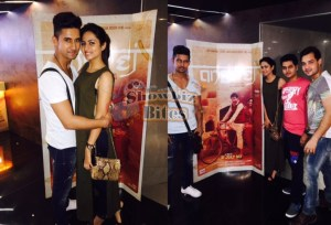 PHOTOS: Ravi Dubey Throws a Special Screening of Angrej for Wife Sargun Mehta