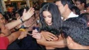 PHOTOS: Katrina Kaif MOLESTED in Public, A Man Grabs Her Assets