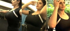 PHOTOS: Bombshell Zarine Khan Flaunts Her Juicy Larger Assets