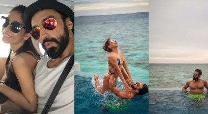 Ashish Chowdhry's holiday pictures