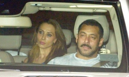 Salman Khan and Lulia Vatur's wedding
