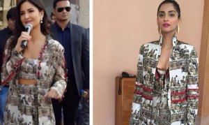 Who Wore Print Dress Better: Katrina Kaif or Sonam Kapoor?