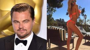 Leonardo DiCaprio Gets Cosy with Model Roxy Horner in London
