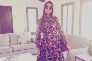 Sonam Kapoor's Geometric Print is What You Want to Wear