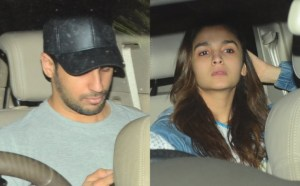 OMG! Siddharth Malhotra CAUGHT Outside Alia Bhatt's Home