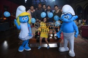 Smurfs: The Lost Village on the Set of Golmaal Again