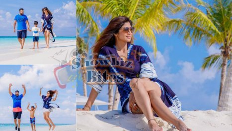 Shilpa Shetty's holiday photos