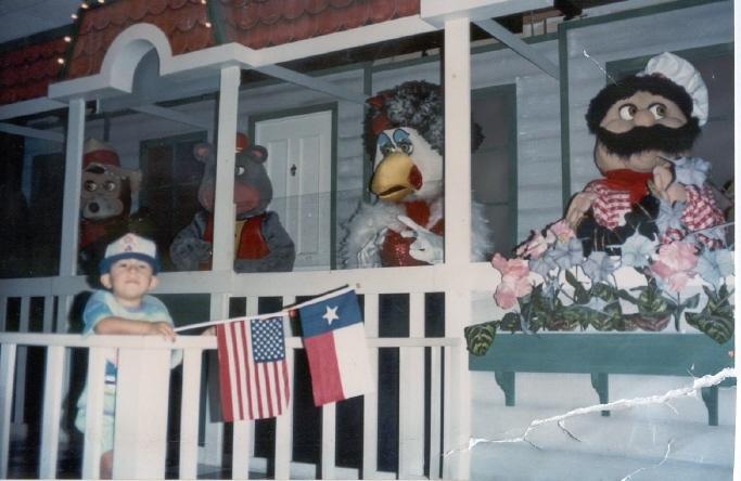 Star Chuck Cheese Birthday 1992 E