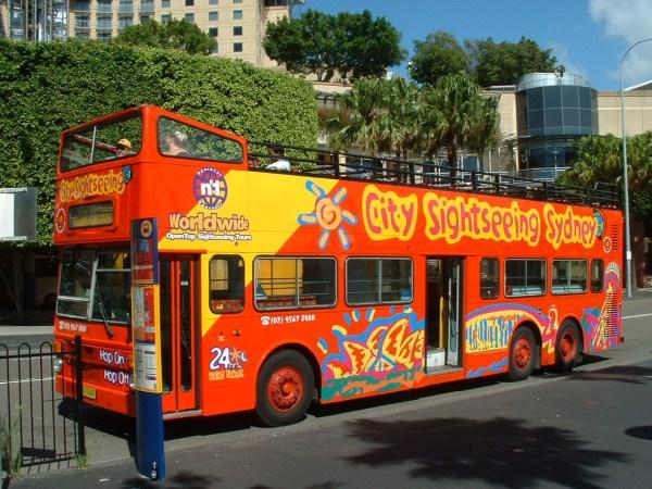 City Sightseeing australiaSHOWBUScom PHOTO GALLERY