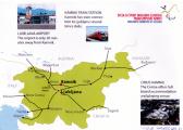 Lageplan von Kamnik/Anfahrt
