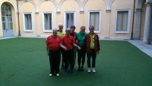 2016 Mailand Teambild Deutschland - SpielerInnen und Coach