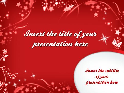 Feliz Navidad Plantilla PowerPoint E Impress