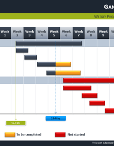 Gantt chart diagram for powerpoint thumb also free template rh showeet