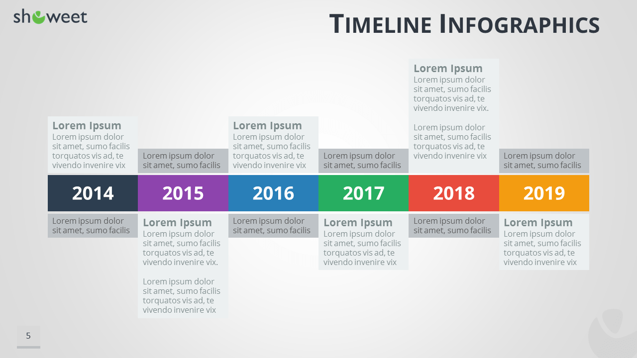 office smartart timeline