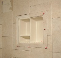 Shower Shelf Shampoo Niche Recessed Showering Shelves Niches