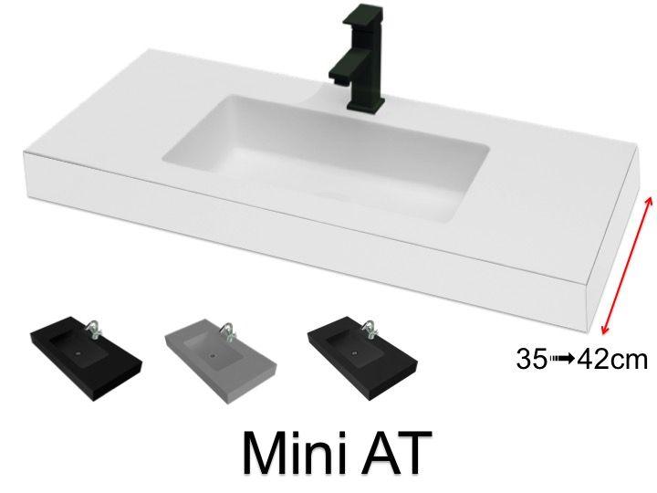 Very Small Bathroom Washbasin 35 X 70 Cm Mini 35 At