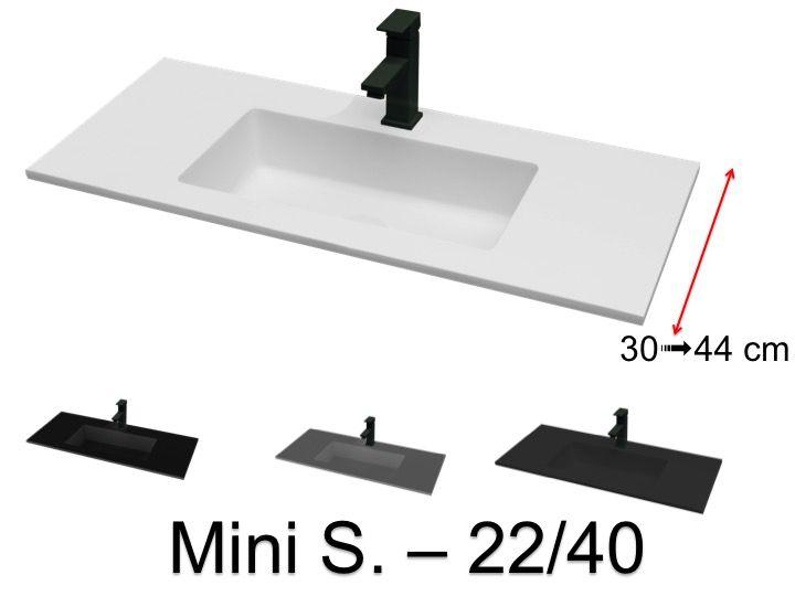 70 x 40 cm suspended or recessed
