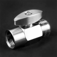 100 percent Solid Brass Shower Head Shut Off Valve