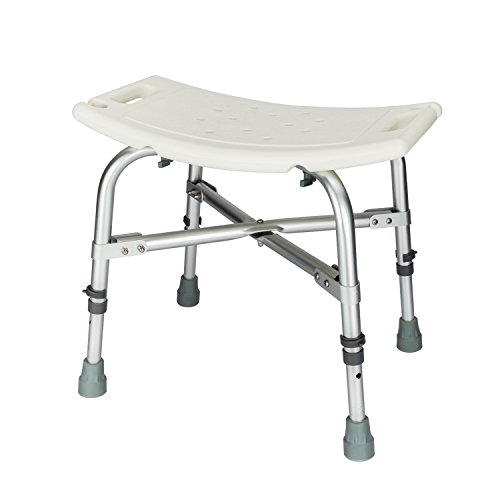 Mefeir 450LBS Medical Shower Chair Bath Stool Transfer