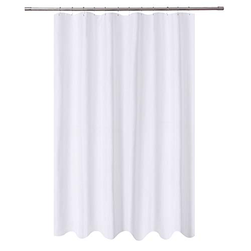 Machine And Extra Long Shower Curtain Fabric With 84 Inch Height Hotel Grade